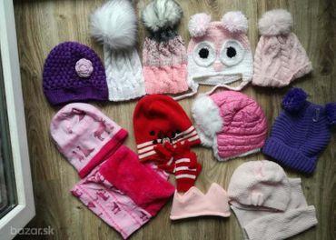 Zimné čiapky vel 1 - 3 roky