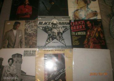BLACK MUSIC CIERNA HUDBA LP VINYL