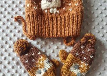 Zimna ciapka a rukavice Zara,velkost 92