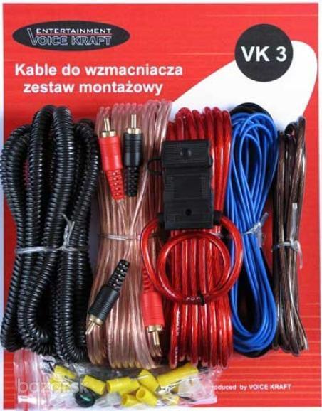 Kable VK 3 na subwoofer