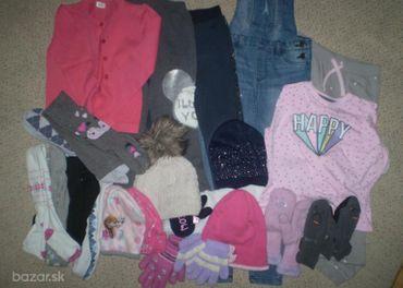 Sada oblečenia pre dievča č.122 až 128– 23 ks