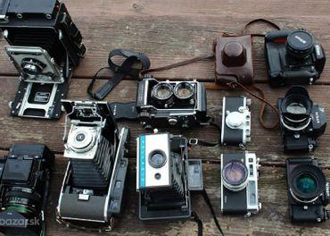 Kúpim staré fotoaparáty do svojej zbierky
