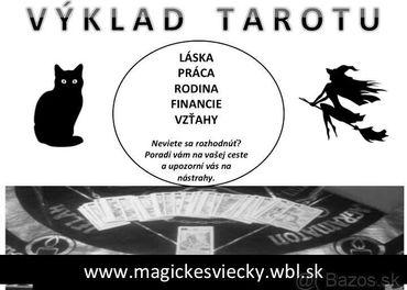 """Vyklad tarotu (""""veštenie"""") magickesviecky.wbl.sk"""