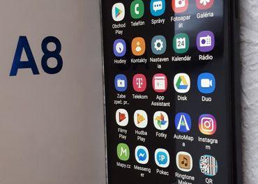Samsung A8 BLACK