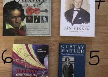 Knihy s hudobnou tematikou