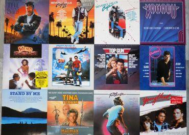 predám GRAMOFONOVE LP PLATNE .. Soundtracky 70 a 80 rokov