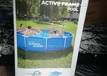 NOVY Bazén Summer Waves 3,66 x 76 cm s filtráciou