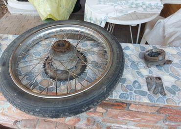 babetta 210 chrómové kolesá kompletné predné aj zadné