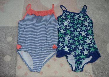Dievčenské plavky 2 ks TOP STAV