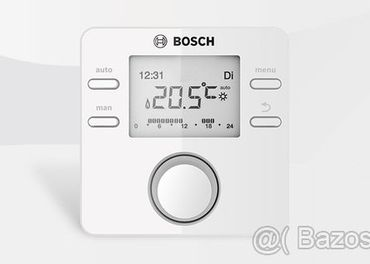 Ekvitermicky Termostat + cidlo BOSCH CW100 - NOVE NEPOUZITE