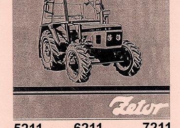 Príručky na traktor Zetor Tatra V3S Fortschritt Liaz Škoda