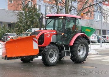 Traktorista zimnej údržby