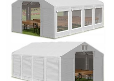 3x8m 2-2,87m záhradný párty stan / pavilón