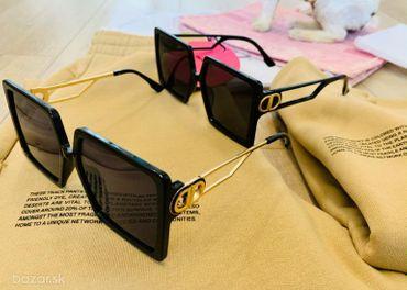Okuliare dva druhy unisex na styl Dior
