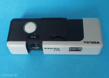 Fotografický prístroj typu Pocket zn. Werlisa 110