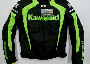 motorkarska bunda textilna Kawasaki