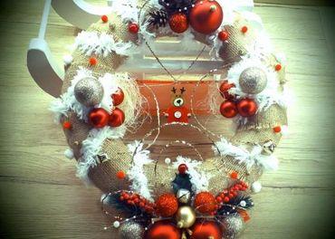 Tradičný vianočný veniec