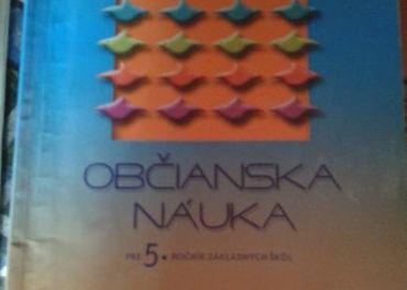 učebnica občianská náuka - 5 ročník