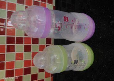 Dojčenské fľaše značky MAM 2 ks