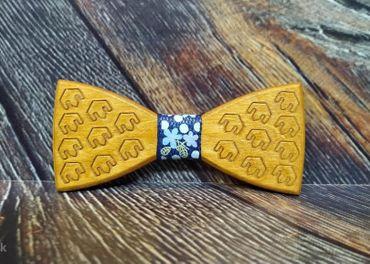 Pánsky drevený motýlik GAMER
