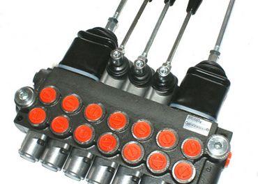hydraulický rozvádzač,ovladanie joystickom
