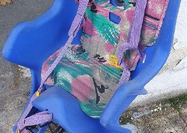 sedačka na bicykel aj so zadným nosičom