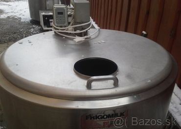 Chladiace nádrže na mlieko