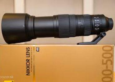 Nikkor nikon 200-500 mm f5.6 VR