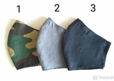 Ochranné bavlnené rúška na tvár