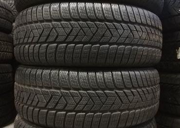 zimné pneumatiky 225/55 r19 Pirelli 7mm