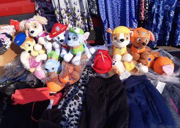 Tlapkova patrol paw patrol ruska ciapky  textil hracky