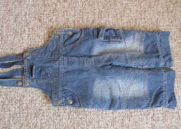 Riflové zateplené nohavice – cca 12 mesačné