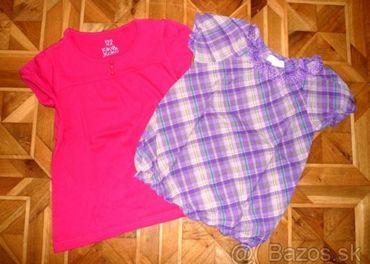Letné tričká - 2ks v.122