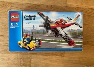 Lego City 60019 - Kaskadérske lietadlo
