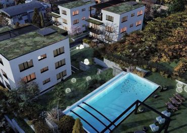 POD BÔRIKOM - 5 izbový byt s predzáhradkou a bazénom F1