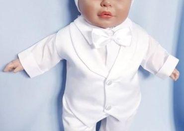Oblečenie na krst pre chlapca