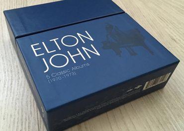 5CD box Elton John