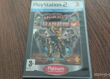 Ps2 hra ratchet gladiator