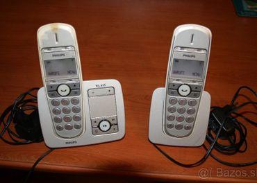 Bezdrôtové telefony.