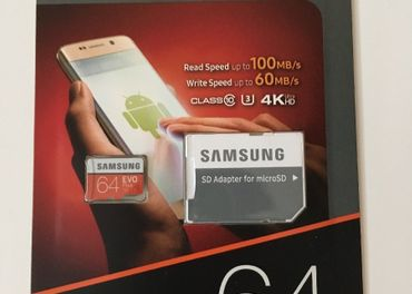Pamäťová karta Samsung Micro SDXC EVO+ 64GB Class 10