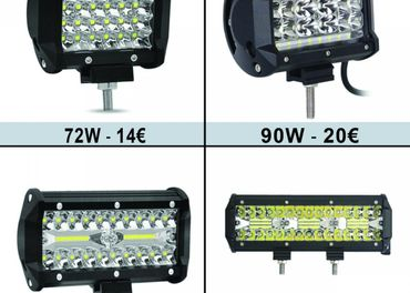 LED pracovne svetla , LED RAMPA 72W 90W 120W 180W