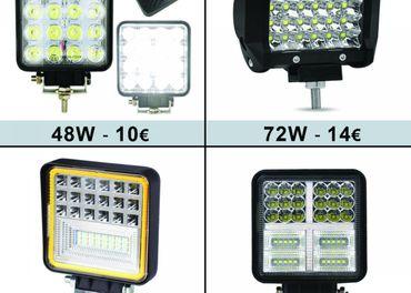 LED pracovne svetla , LED RAMPA 48W 72W 126W 177W