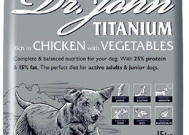 granule Dr.John-prirodne,kvalitne granule,SLAMA pre psov