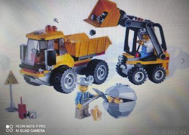 Lego CITY 4201 Nakladač a sklápačka