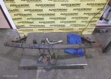 Ťažné zariadenie 4Z7 4Z - Audi A6 C5 4B 2003 Allroad Avant Quattro 2.5 TDI 132 kW AKE EYJ