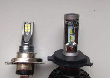 LED + led parkovačky k tomu zdarma