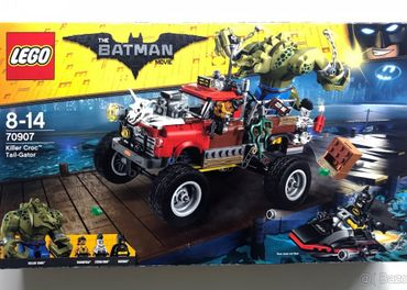 Lego Batman Move 70907: Killer Croc Tail-Gator