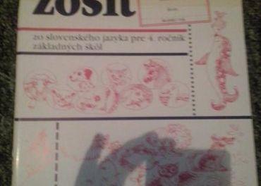 4 . ročník - prac. zošit - slovenský jazyk