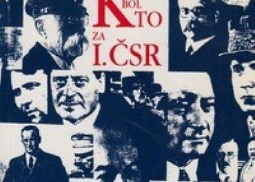 kolektív autorov: Kto bol kto za I. ČSR