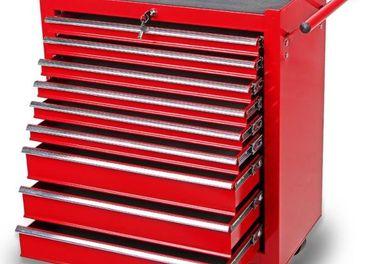 Nový dielenský vozík na náradie 9 zásuviek Faktúra